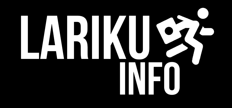 LariKuinfo 2020 Logo Putih bgHitam